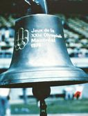 At the 1976 Montreal Olympic Games. This bell was engraved by the 1776 Montreal Olympic Committee.